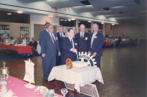 1985-05-8 25th Anniversary; Jim Thomson, Ken Kendall, Phil Berner,Peter Smith