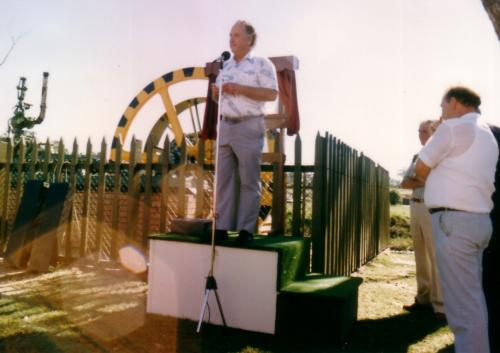 1987 Ken Matthews, Ted Walker; Rotary Wheel at the Civic Centre