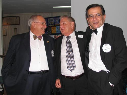 2010-04-24. 50th, Dom Fondacaro, Greg Parnham, Issa Shalhoub