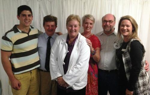 2014-04-15 Paul Shalhoub, John Hozck, Ann Sudmalis MP, Rebecca Cameron, Phil Brown and Leonie Smith