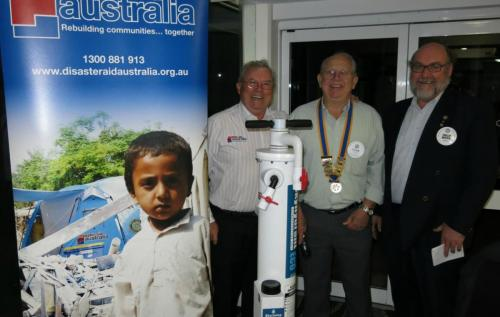 2015-09-22 Disaster Aid Australia; John OReilly, Clive Cross, Phil Brown