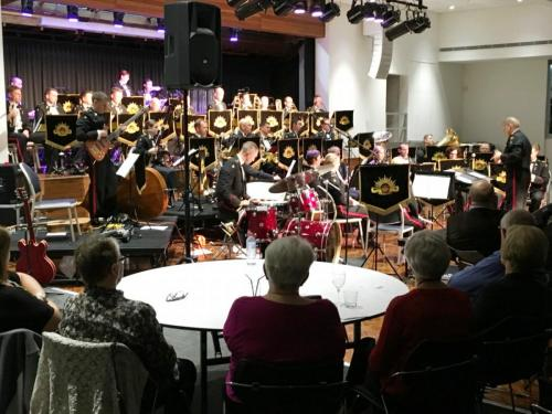 2015-11-03 Royal Military College Band, performing at the Civic Centre, organised by Stephen Hladio and Glenn Wran