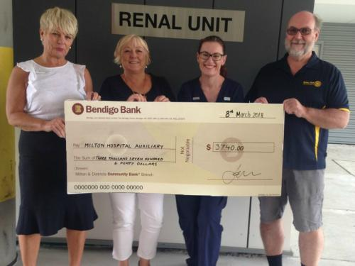 2018-03-08 Rotary Donation to the MU Hospital Renal Unit